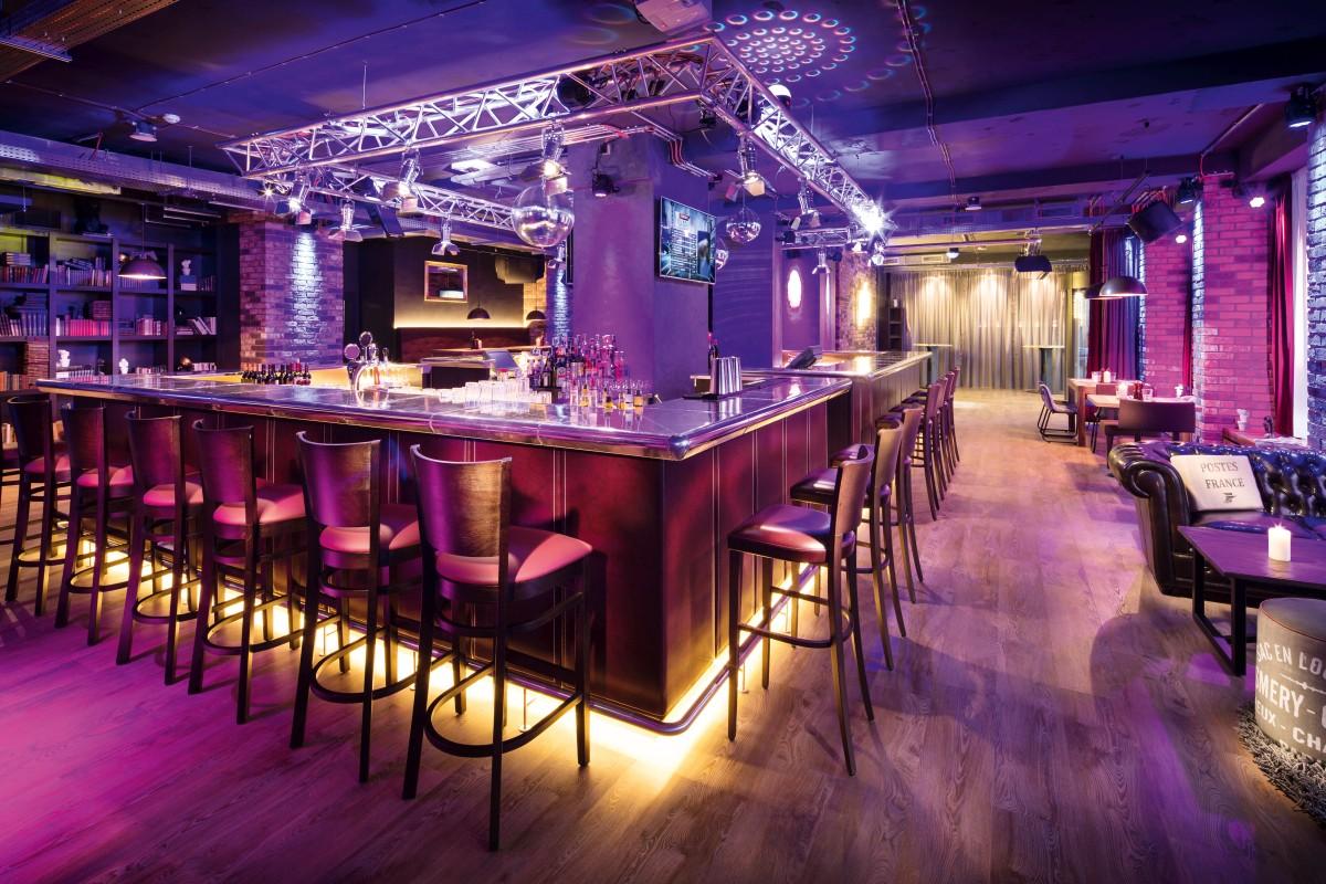 Pentahotel Prag: Lounge – Studio Boxler Interior Design