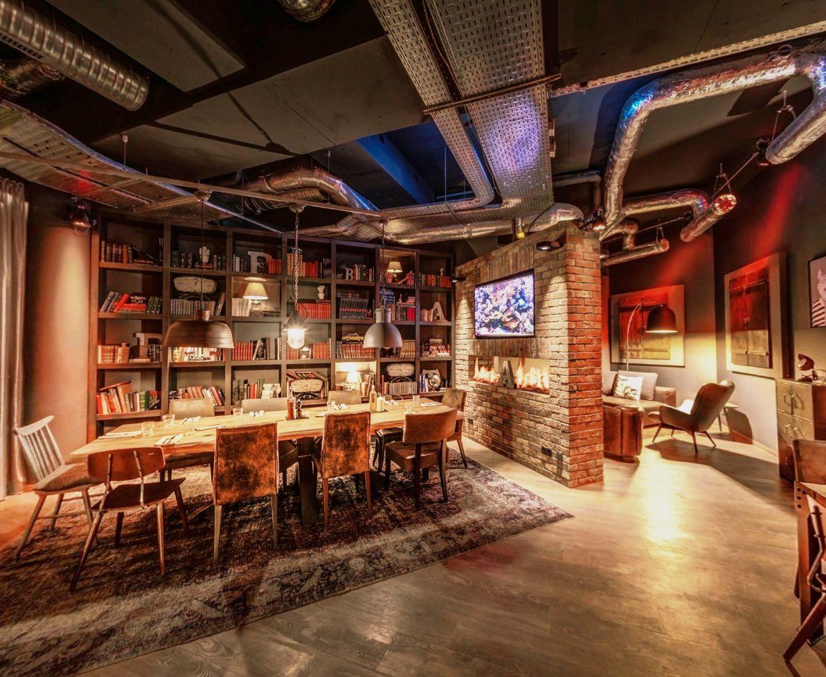 Projekte Pentahotel Paris Lounge Restaurant – Studio Boxler Interior Design