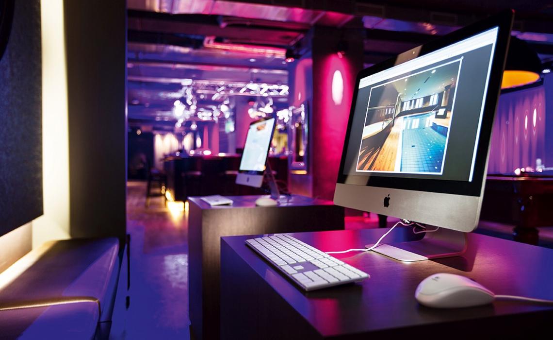 Projekt Pentahotel Paris – Computer – Studio Boxler Interior Design